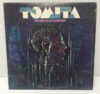 TOMITA PICTURES AT AN EXHIBITION VINYL LP RECORD ALBUM (1975)