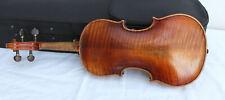 """Old used violin labeled: """"DOLLENZ 1855"""" very old Look ! violin バイオリン 小提 скрип"""