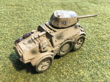 1/100th (15mm) Painted WWII Italian AB-43 Armored Car Wargaming Model