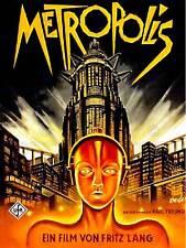 VINTAGE FILM MOVIE METROPOLIS 1927 SCI FI FUTURE NEW ART PRINT POSTER CC4997