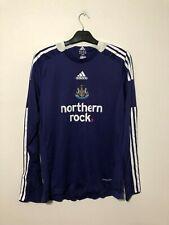 Player Issue #12 Newcastle United Away Shirt 2008/09 Medium M Long Sleeve L/S