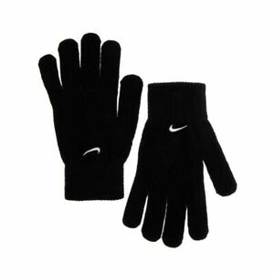 Nike Sportswear Black Basic Knitted Gloves Unisex S/M/L/XL winter Embroided