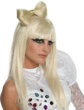Lady Gaga Bow Hair Clip Comb Pop Star Dress Up Halloween Adult Costume Accessory