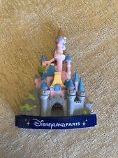 Disneyland Paris Pink 3D Castle Magnet *Us Seller*