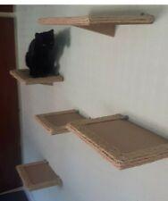 Sisal Cat Wall Shelves set of 5