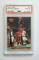 🔥🔥 1991 Fleer Ultra Michael Jordan #27 PSA 10 💎 GEM MINT CHICAGO BULLS GOAT🐐