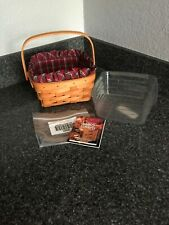 longaberger medium berry basket Combo