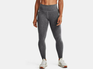 Under Armour UA Hi-Rise Leggings Sport Fitness Damen grau NEU