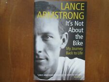 LANCE ARMSTRONG - ITS NOT ABOUT THE BIKE USED PAPERBACK