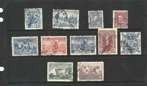 Australia Collection 1928-1949 Issues ,Used  2018 Scott $55.00 +