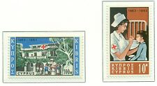 CROIX ROUGE - RED CROSS CENTENARY  CYPRUS 1963