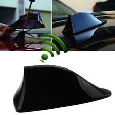 Black Car Parts Exterior Roof AM/FM Radio Shark Fin Antenna Aerial Signal Decor