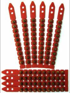 RED CARTRIDGES/SHOTS FITS HILTI DX450, DX 460 PACK 100