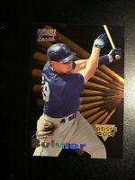 JAY BUHNER 1996 PINNACLE ZENITH ARTIST'S PROOF CARD # 48 SEATTLE MARINERS MINT