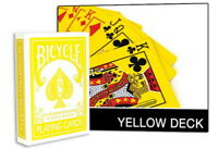 Magic Makers Yellow Deck Bicycle Playing Cards Tricks 1st Gen