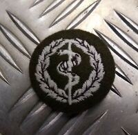 Genuine British No2 Army RAMC Medical Combat Medics Qualification Patch - NEW