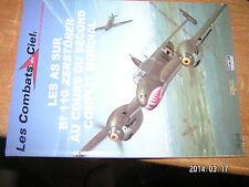 Les Combats du Ciel OSPREY DelPrado n°34 As sur Bf 110 Zerstorer dans 2e GM