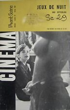 JEUX DE NUIT de MAI ZETTERLING  CINEMA AVANT-SCENE N° 67 de 1967