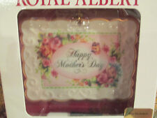 "Mother'S Day Porcelain ""Keepsake "" Card Royal Albert"