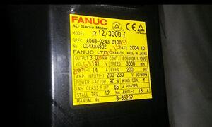 A06B-0243-B100 A06B0243B100 Used Fanuc Servo Motor