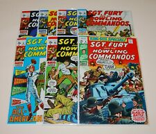 SGT. FURY AND HIS HOWLING COMMANDOS 77, 78, 79, 80, 81, 83, KING-SIZE SPECIAL 6