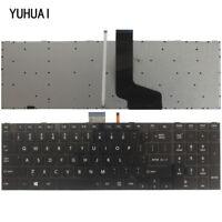 New laptop US keyboard Toshiba Qosmio X870 X875 Series with Backlit gray frame