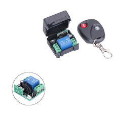 Universal DC 12V Wireless 433MHz Remote Control Switch Transmitter with Receiver
