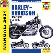 Harley Davidson 883 883R XL1000 1200 Sportster 1970-2010 Haynes Manual 2534 NEW