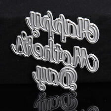 Letter Dies Metal Cutting Stencil For Scrapbooking Paper Cards Selling