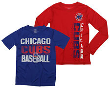 MLB Youth Chicago Cubs Fan Two Piece Performance T-Shirt Combo Set