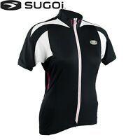 Sugoi RS Womens Cycling Jersey - Black White - Sizes M L