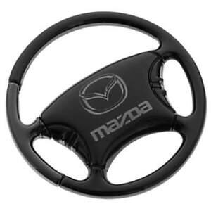 Mazda Steering Wheel Key Ring (Black)