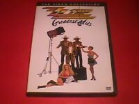 Z Z TOP     The  Video Collection    DVD   Greatest Hits   12 classic ZZ videos