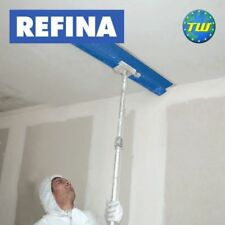 REFINA Plaster Skimming Spatula Pole - Adjustable 1-2M Extendable Handle 608437