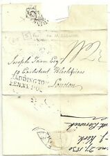 "1830 wrapper EX Nord Berwick "" 5"" casa di ricezione HADDINGTON PENNY POST J Kirk"