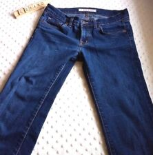 J Brand Sz 27 Jeans 914 Cigarette Stretch Dark Fitted inseam 34 Womens Tapered