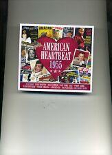 AMERICAN HEARTBEAT 1955 - DEAN MARTIN JIM REEVES FRANK SINATRA - 2 CDS - NEW!!