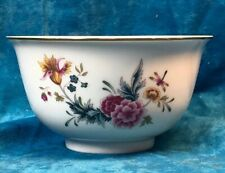 Independence Day 1981~Floral & Dragonfly- Avon American Heirloom Bowl