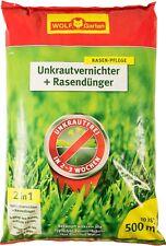 WOLF-Garten SQ 500 Unkrautvernichter Plus Rasendünger - 10kg für 500m² (3840652)