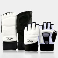 Taekwondo Hand Foot Instep Guard Gloves Sparring Martial Training Protector Soft