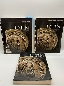 BJU Bob Jones Latin I Student With Teacher's Editions 2nd Edition Retails $150