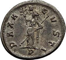 TACITUS 276AD Ticinum Authentic Ancient Roman Coin PAX Peace Goddess i65431