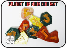 Planet of Fire MEDAGLIA Set resina scifi che PROP REPLICA Cosplay 5th Dottore