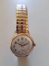 Montre homme mécanique plaqué or 15 jewejs Vintage Men's Watch 50'S