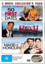 50 First Dates / Hitch / Made Of Honour*DVD*2009*3-Disc*R4*Excellent Condition