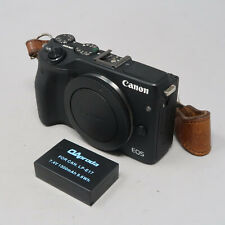 Canon EOS M3 24.2 MP Digital Camera Black (Body Only) - Read Description
