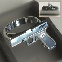 Fashion Gothic Personalized Pistol Ring Men Women Party Finger Rings Jewelry