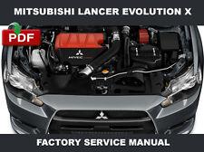 New listing Mitsubishi Lancer Evolution 10 2010 Oem Body Engine Transmission Service Manual