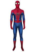 The Amazing Spider-Man 2 Spiderman Peter Park Jumpsuit Halloween Cosplay Costume