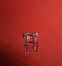 Kräuselfuß für Pfaff Kunststoff, klar